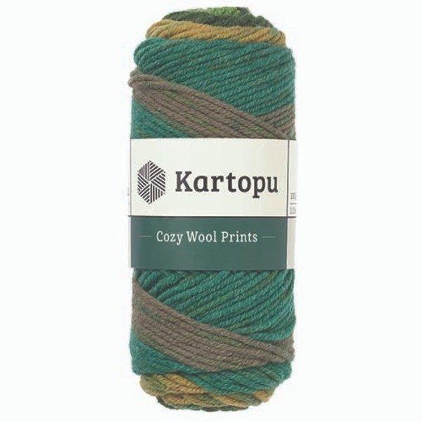 Cozy Wool Prints KARTOPU - Н1874