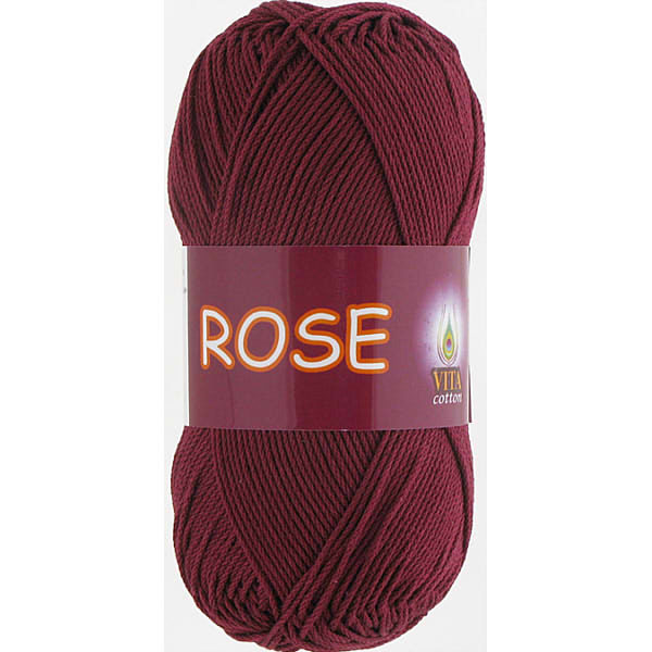 Rose VITA Cotton - бордо 3946
