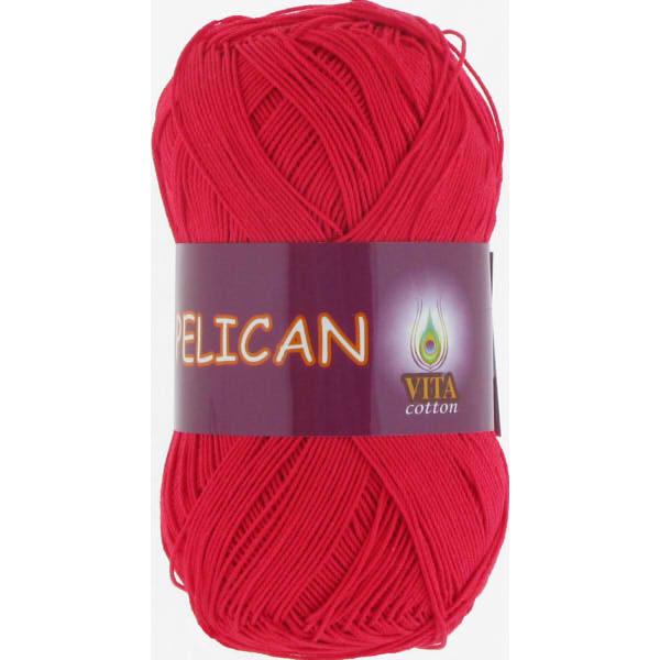 Pelican VITA Cotton - красный 3966