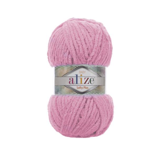 Softy Plus Alize - розовый 185