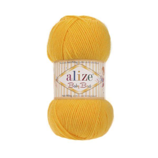 Baby Best Alize - тм.желтый 216