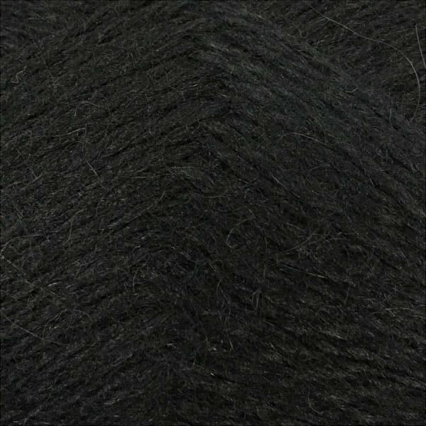 Козий пух COLOR CITY - черный 2622