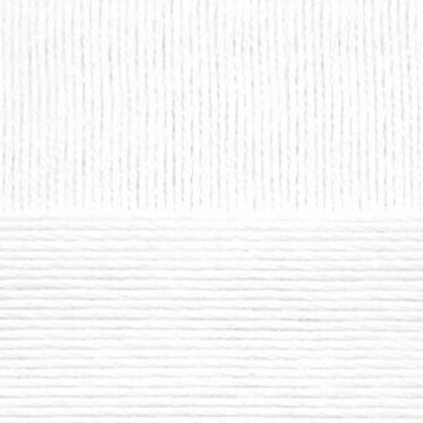 Хлопок натуральный Пехорка - белый 01