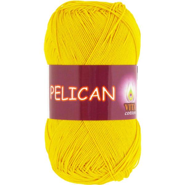 Pelican VITA Cotton - желтый 3998