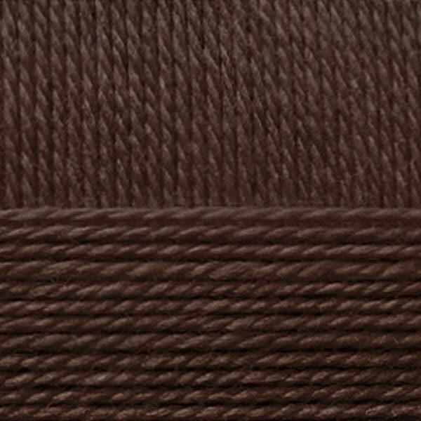 Мериносовая Пехорка - коричневый 251