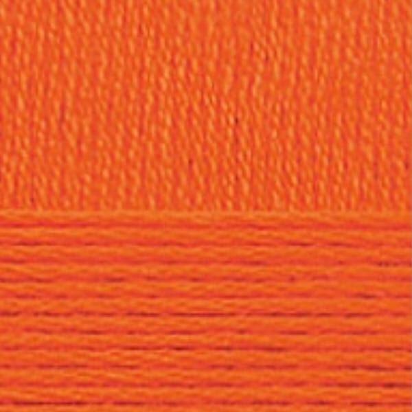 Хлопок натуральный Пехорка - оранжевый 284