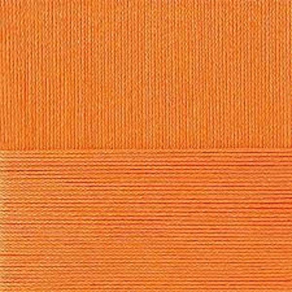 Классический хлопок Пехорка - желто-оранжевый 485