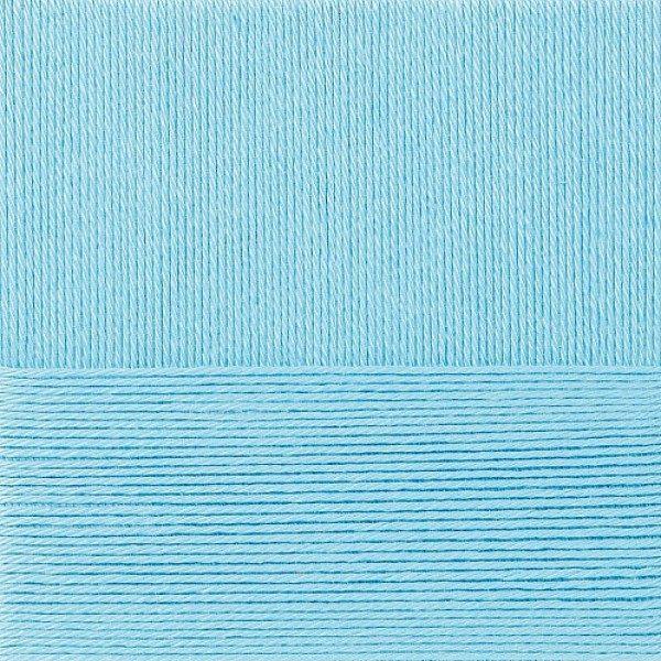 Классический хлопок Пехорка - голубая бирюза 222