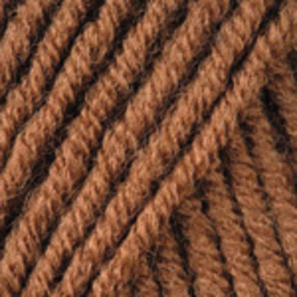 Merino De Luxe/50 YarnArt - коричневый 3067