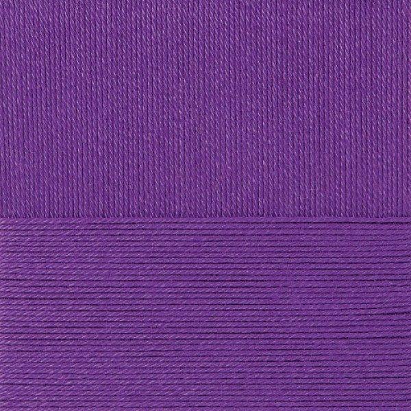 Классический хлопок Пехорка - т.фиолетовый 698