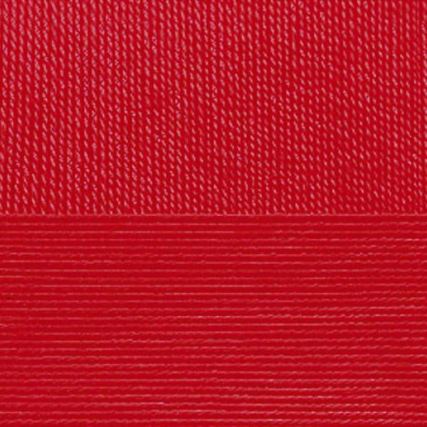 Цветное кружево Пехорка - красный 06