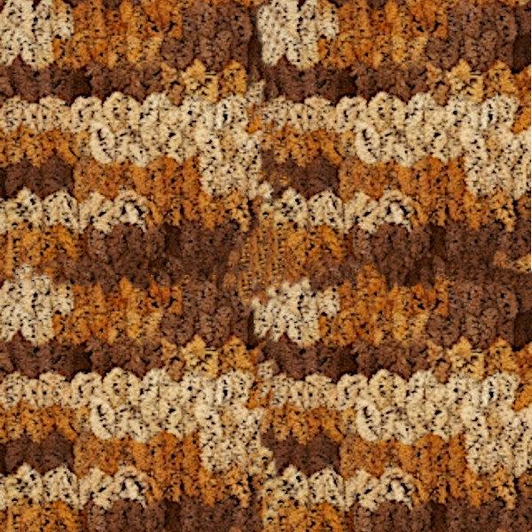 Puffy Color Alize - беж/рыжий/коричневый 6080