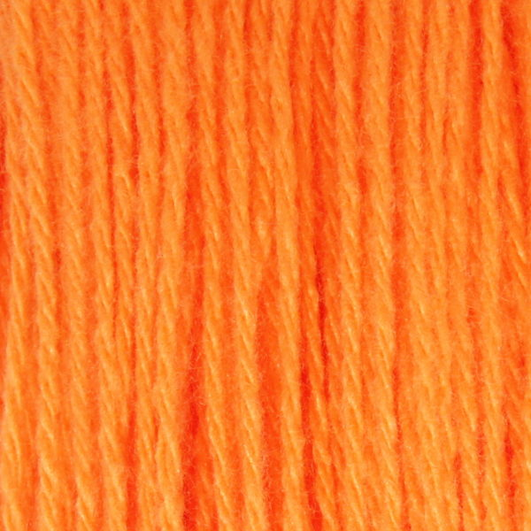 Бабушкина пряжа в пасмах акрил Бабушкина пряжа - цв.апельсин