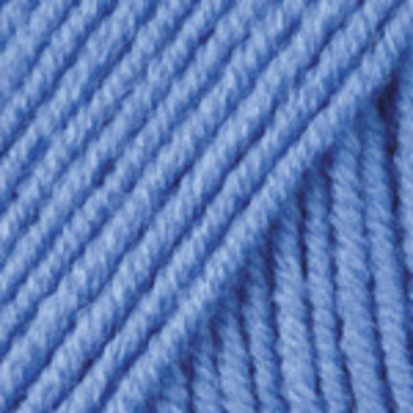 Merino De Luxe/50 YarnArt - тм.голубой 600