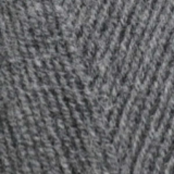 Lana Gold fine Alize - средне-серый меланж 182