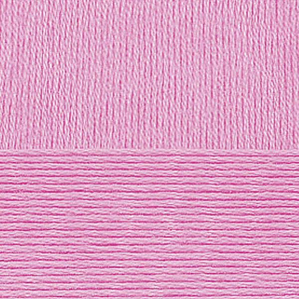 Хлопок натуральный Пехорка - яр.розовый 11