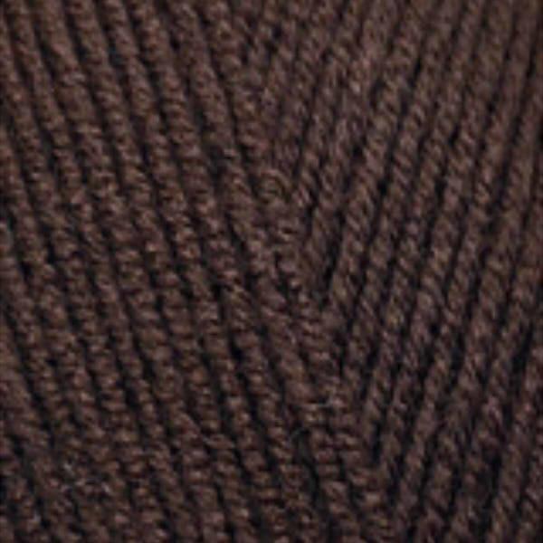 Lana Gold fine Alize - коричневый 26
