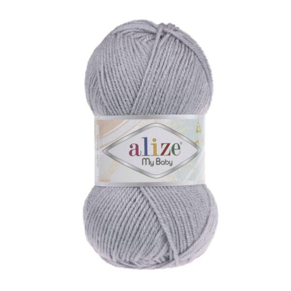 My Baby Alize - серый 253