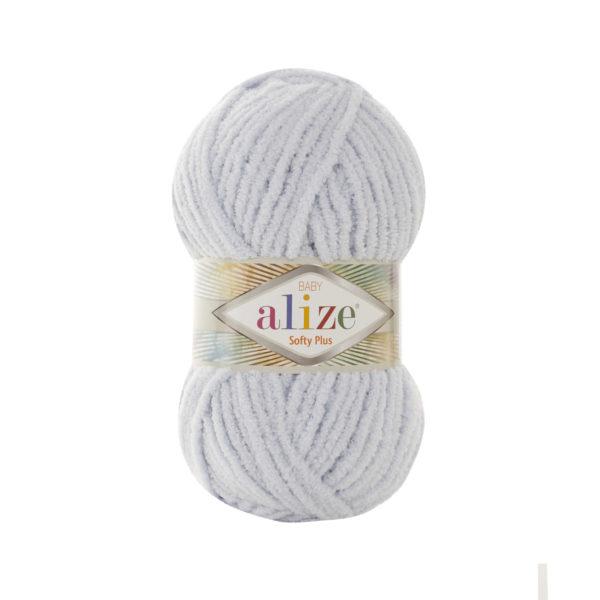 Softy Plus Alize - св.серый 500