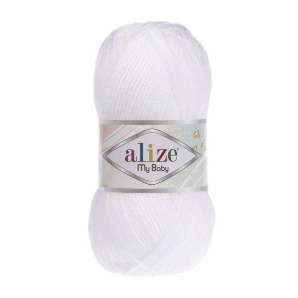 My Baby Alize - белый 55