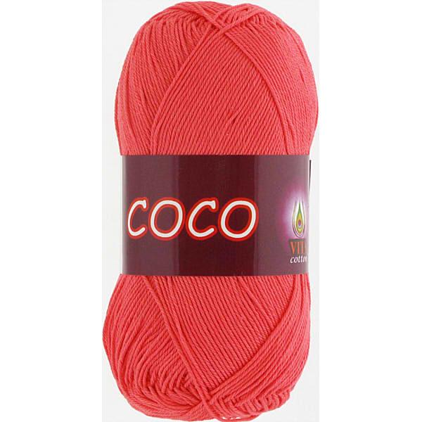 Coco VITA Cotton - розовый коралл 4308