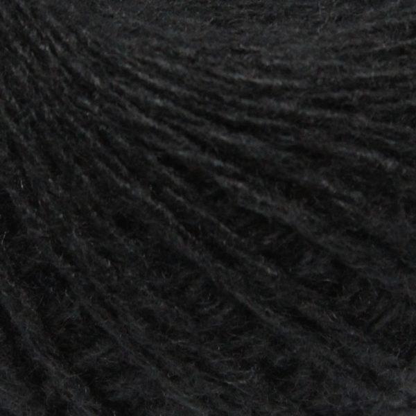 Бабушкина пряжа в пасмах акрил Бабушкина пряжа - цв.черный