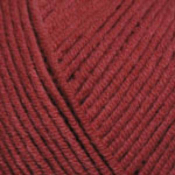 Jeans YarnArt - т.красный 51