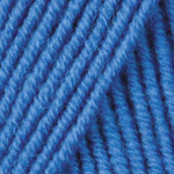 Merino De Luxe/50 YarnArt - ярк.голубой 3040