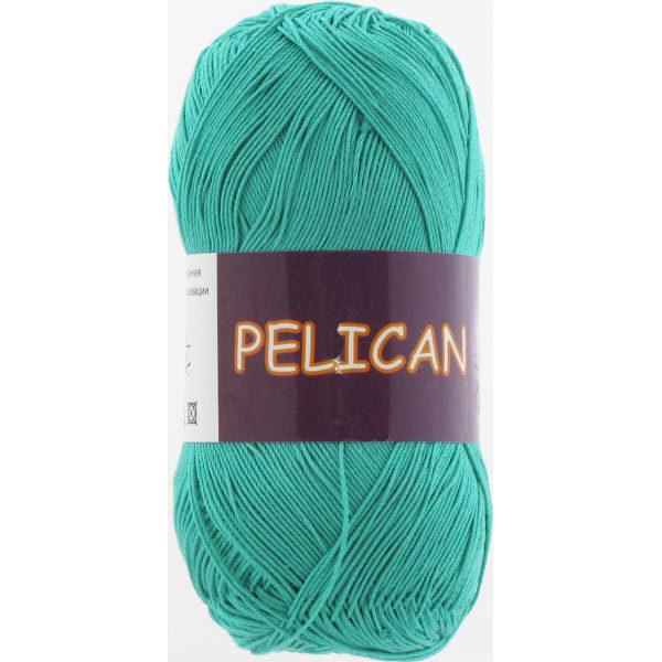 Pelican VITA Cotton - зел.бирюза 3979