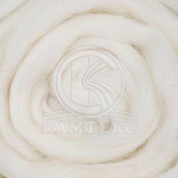 Шерсть для валяния Камтекс - белый 205