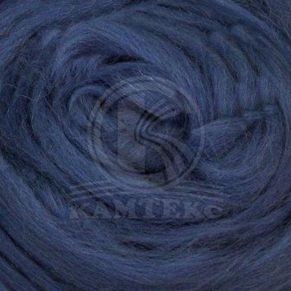 Шерсть для валяния Камтекс - джинса 022