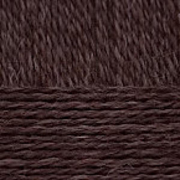 Овечья шерсть Пехорка - коричневый 251