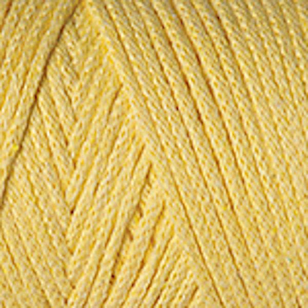 Macrame Cotton YarnArt - лимонный 754