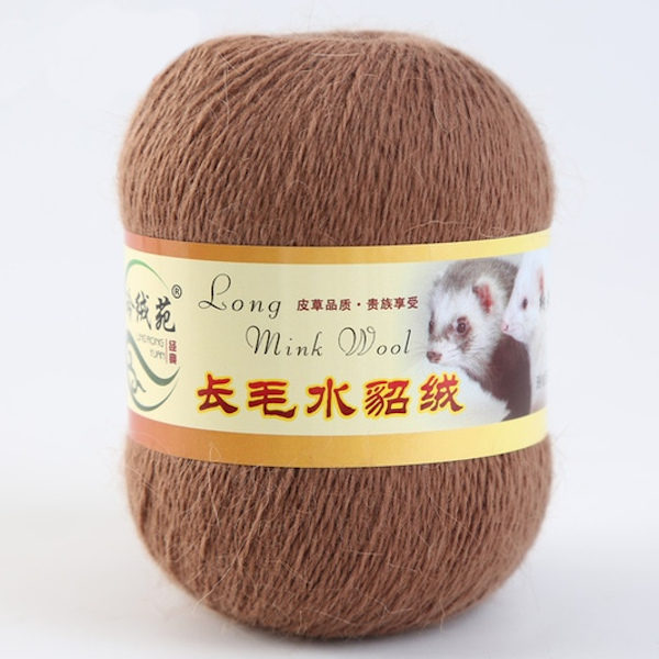 Норка длинноворсная LMY(норка) - молочный шоколад 47