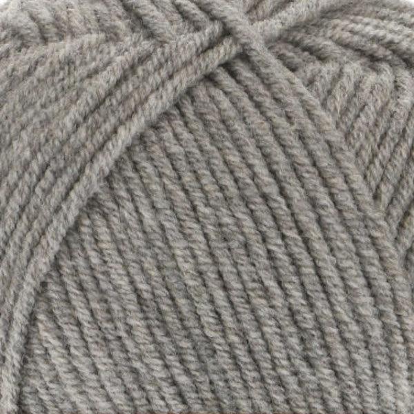 Cotton Gold Hobby Alize - серый меланж 21