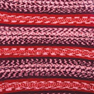 Nordic YarnArt - бел/красный/бордо 664