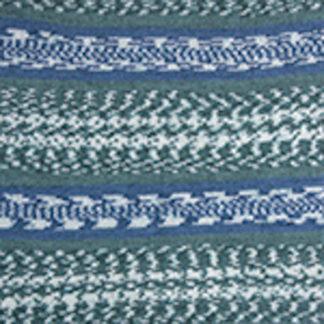 Nordic YarnArt - бел/синий/зеленый 654