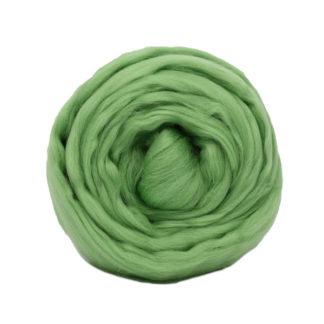 Шерсть для валяния Троицк - зеленое яблоко 0580