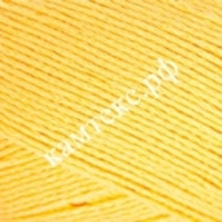 Хлопок Полет Камтекс - желтый 104
