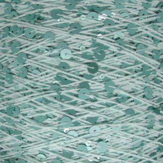 Королевские пайетки Пряжа Китай - св.бирюзовый AJ064