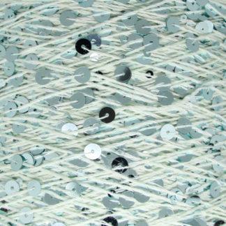 Королевские пайетки Пряжа Китай - мятный/мятный AJ037