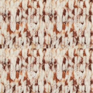 Puffy Color Alize - бел/коричневый в крапинку 7502