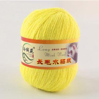 Норка длинноворсная LMY(норка) - лимон 57