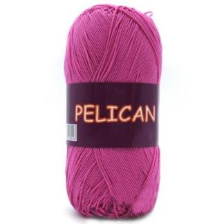 Pelican VITA Cotton - тм.розовый 4009