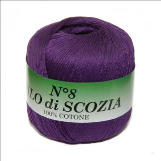 Filo di Scosia №8 Weltus - фиолетовый 108