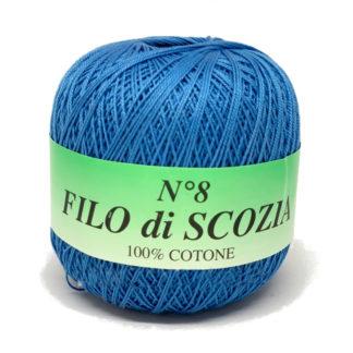 Filo di Scosia №8 Weltus - голубой 64