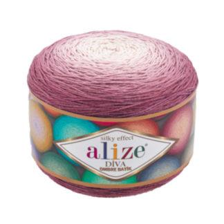 Diva Ombre Batik Alize - лиловый 7377