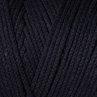 Macrame Cotton YarnArt - черный 750