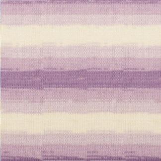 Sekerim Bebe batik Alize - белый/сиреневый 7254
