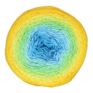 Rosegarden YarnArt - бирюза/зел/желтый 310